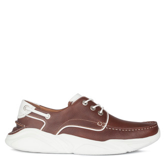 Men's Brown Hybrid Derby Sneakers GB 7211010 CGW