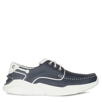 Men's Navy Blue Hybrid Derby Sneakers GB 7211010 NVW