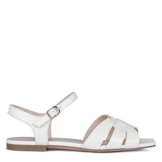 Vibrant White Patent Leather Sandals GD 5105010 WHP