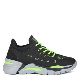 Women's Black Flyknit Sneakers GK 5205020 BLY