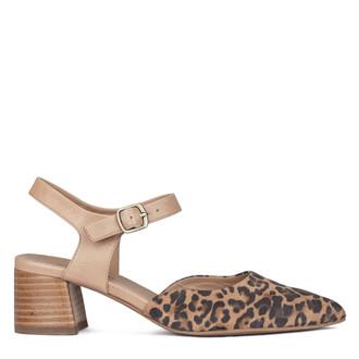 Women's Exotic Leopard Print Leather Shoes GP 5151310 LEO