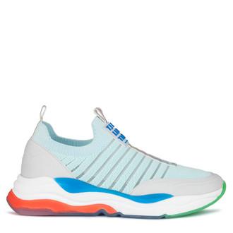 Women's Light Blue Dynamic Rainbow Sneakers GS 5110820 GNM