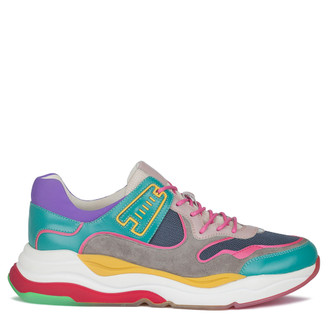 Women's Contemporary Multicoloured Sneakers GS 5210130 MLT