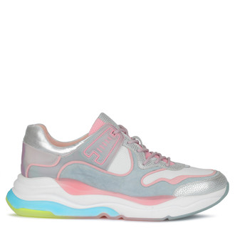 Women's Streamlined Pastel-Coloured Sneakers GS 5210130 SLP