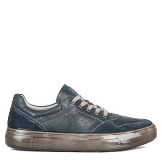 Men's Perforated Navy Sneakers TL 7225310 NVG