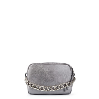 Platinum Leather Miniature Rimini Bag YG 5104110 PLZ