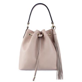 Nude Leather Bucket Bag YG 5319010 PNA