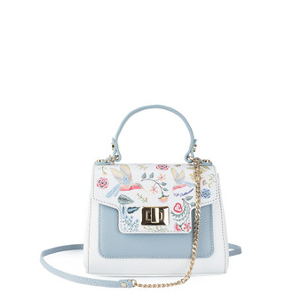 White and Blue Hummingbird Bag YM 5112010 WHU