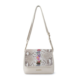 Beige Leather Cross-Body Parma Bag YM 5220810 BGZ