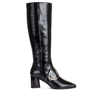 Women's Long Black Boots GD 5464810 BLP