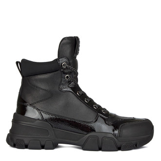 Women's Sporty Black Boots GD 5518510 BLK