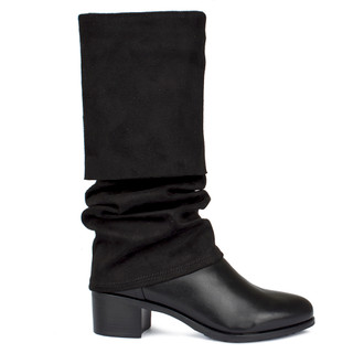 Women's Black Over-Knee Boots GD 5749930 BLE