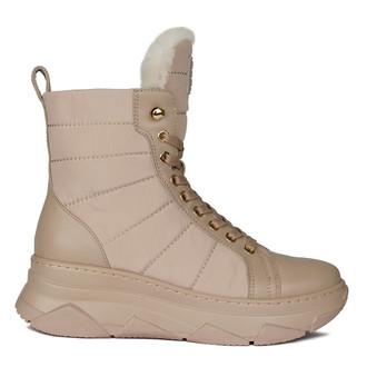 Women's Beige Ankle Boots GF 5521930 BGA