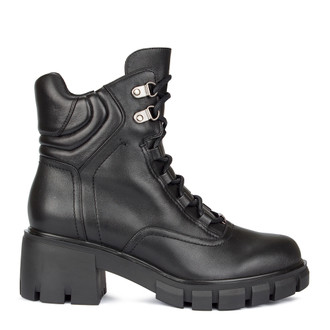 Women's Black High Top Boots GF 5537010 BLZ