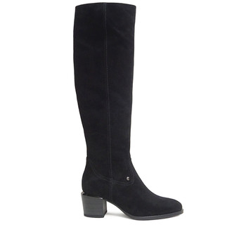 Women's Black Knee-High Boots  GF 5656910 BLS