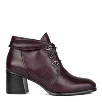 Women's Cuffed Burgundy Boots GP 5360010 BDA GP 5360010 BDA