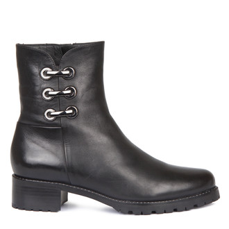 Women's Ankle Boots with Shearling Lining GP 5524518 BLK