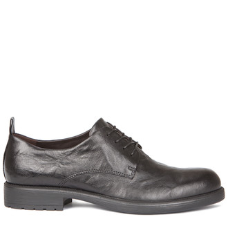 Men's Black Derbies MP 7218019 BLA