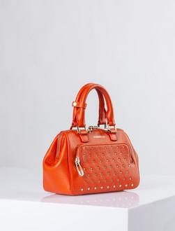 Orange Leather Doctor Bag Mini XT 5149910 ORZ