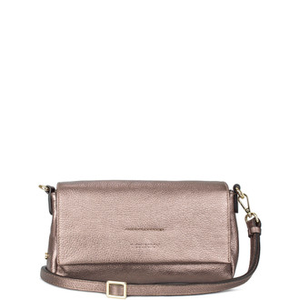 Metallic Bronze Leather Monte Carlo Bag YG 5152510 BRZ
