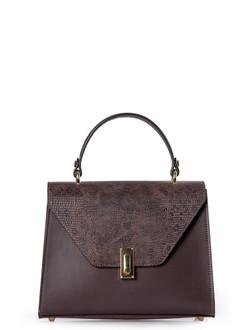 Brown Leather Pisa Satchel Bag YG 5227910 BRZ