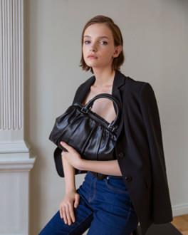 Black Leather TJ Doctor Bag Soft YT 5349910 BLI