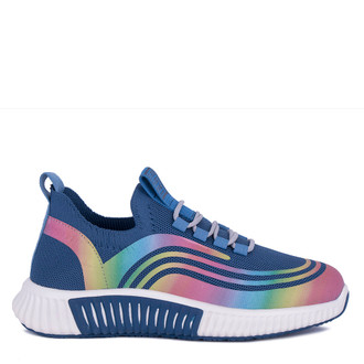Women's Blue Textile Freedom Sneakers GK 5204921 BUM