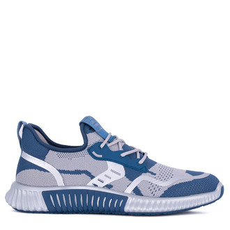 White & Blue Men's Freedom Sneakers GK 7204421 BUG
