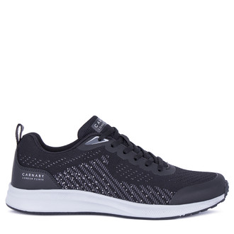 Men's Black Flyknit Textile Sneakers GV 7115921 BLG