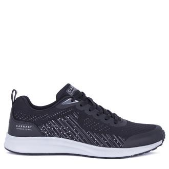 Men's Black Flyknit Textile Sneakers GV 7115921 BLG