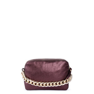 Burgundy Leather Bag Rimini YG 5104111 BDZ