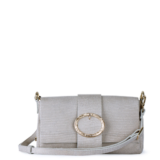 Beige Leather Bag Saint-Tropez YG 5152811 GLZ