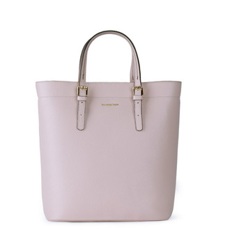 Powder Beige Leather Tote Bag YG 5468011 BGB