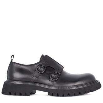 Men's Leather Monk Shoes GB 7215011 BLZ