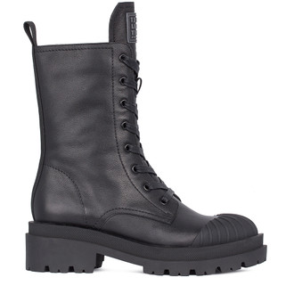 Women's Smooth Leather Calf-Length Boots  GD 5323911 BLI
