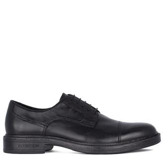 Men's Timeless Black Leather Oxfords GN 7223911 BLK