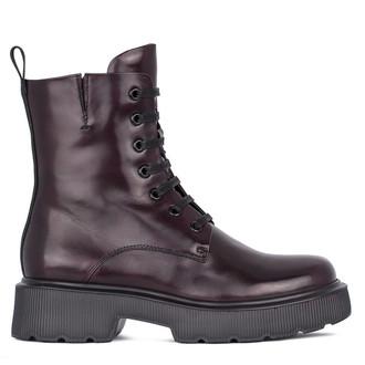 Women's Blueberry Leather Boots GP 5323711 DVA