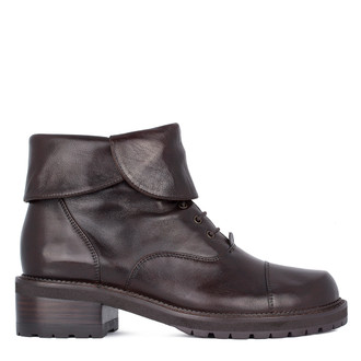 Women's Glove Leather Ankle Boots GP 5335311 DBA