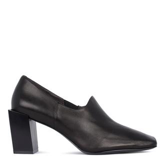 Women's Black Leather Courts GR 5268411 BLI