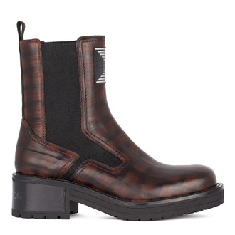 Women's Brown Chelsea Boots GS 5328911 BRB