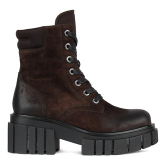 Women's Bold Brown Suede Boots GS 5330010 BRV