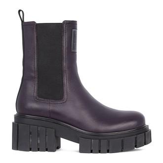 Women's Refined Leather Chelsea Boots GS 5330211 VLA