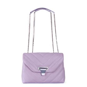 Women's Tender Lilac Leather Vittoria Bag YT 5218811 LLI