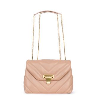 Women's Powder Beige Leather Vittoria Bag YT 5218811 TPA