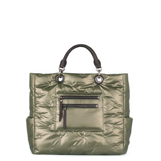 Women's Quilted Nylon Florence Sport Bag YT 5481331 DGZ