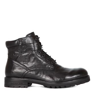 Men's Distressed Ankle Boots GW 7326916 BLA