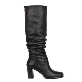 Women's Black Tube Long Boots GD 5473916 BLK
