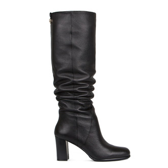 Women's Black Tube Long Boots GD 5473916 BLK