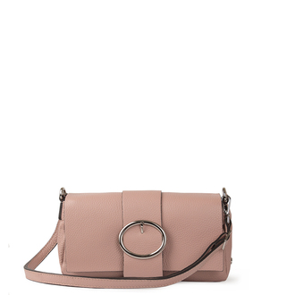 Pink Grained Leather Shoulder Bag Saint-Tropez YG 5152618 PNA