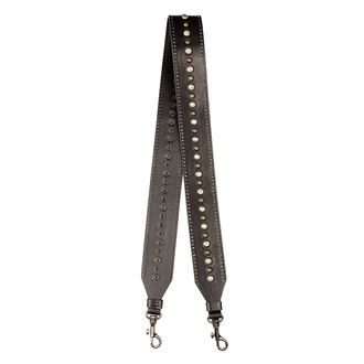 Embellished Leather Tracolla Bag Strap LS 5045018 BLZ